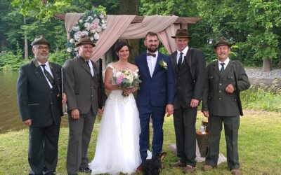 Svatební den…..